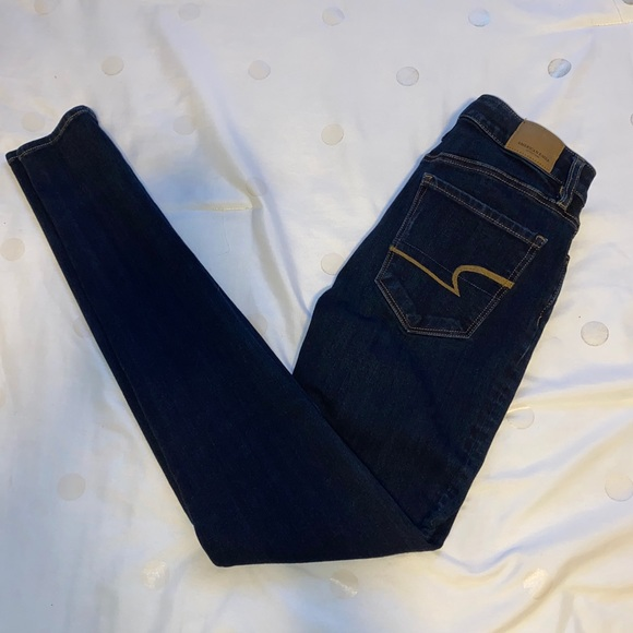 American Eagle Skinny Jeans (size 0 long)